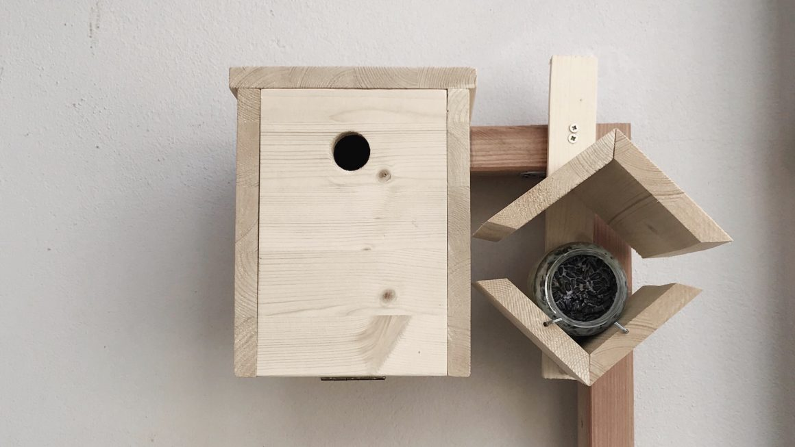 nistkasten f r meisen auf dem balkon eine echte bereicherung. Black Bedroom Furniture Sets. Home Design Ideas